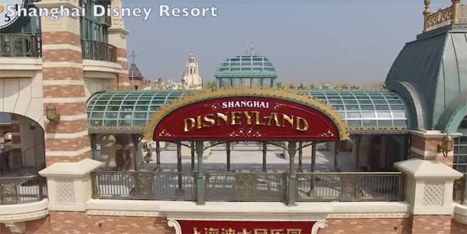 Watch a Video Tour of Shanghai Disneyland Before it Opens