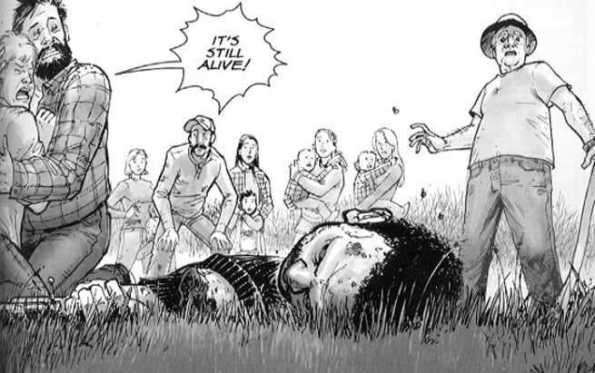 The Walking Dead Tony Moore