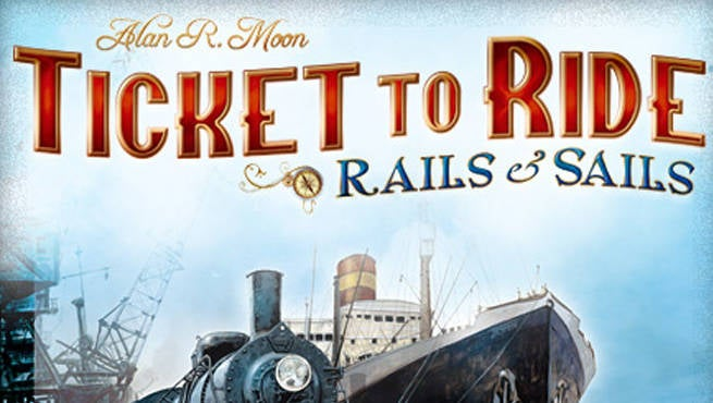 Ticket To Ride Rails of Sails