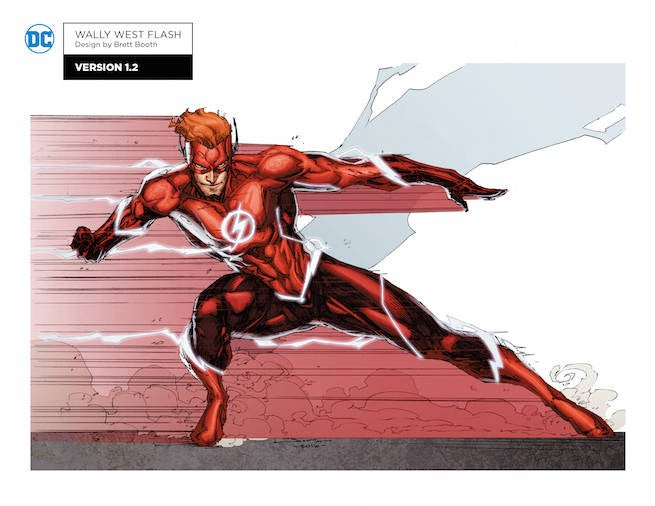 rebirth wally west CD