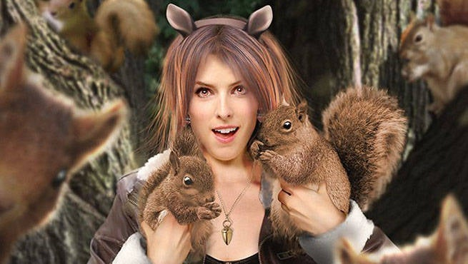 Anna Kendrick Squirrel