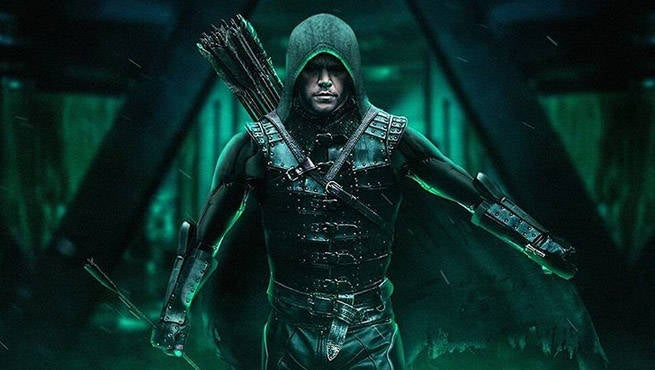 Arrow Matt Damon