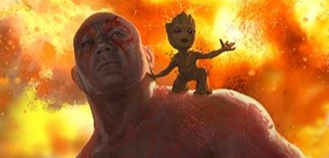 First Look At Baby Groot In Guardians Of The Galaxy Vol 2