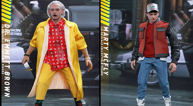 back to the future hot toys
