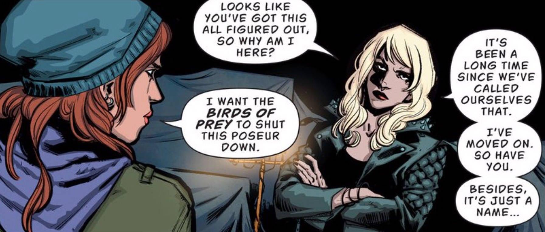 Batgirl BOP Canary 1