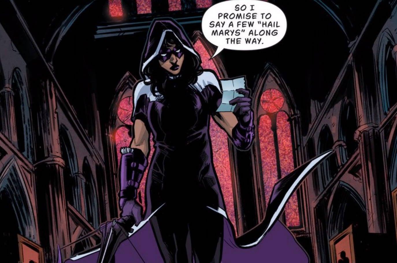 Batgirl BOP Huntress 2