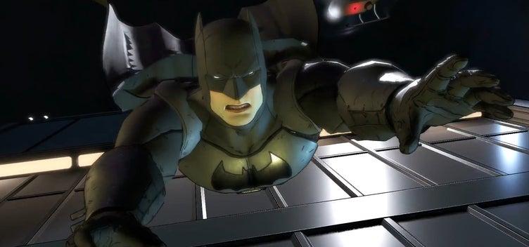 Batman Telltale Game - Batman Leap