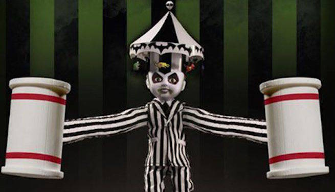 Living Dead Dolls Unveils New Beetlejuice Figurine