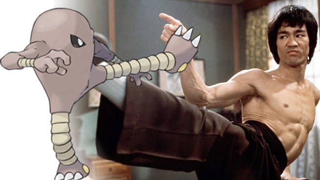 Bruce Lee Pokemon