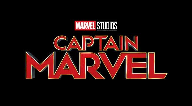 Captain Marvel New Movie Logo - Brie Larson