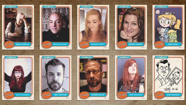 Comic Con Trading Cards