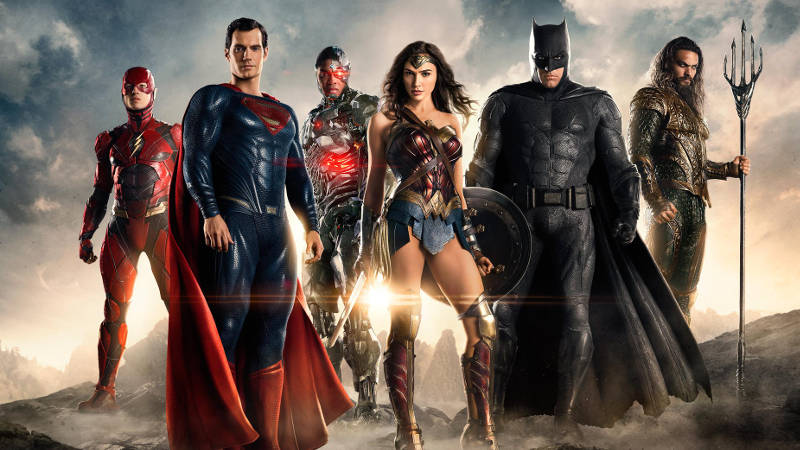 DC vs Marvel Movies 2017