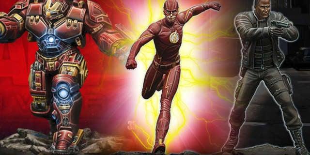 Flash Arrow Hulk Bust Knight Models