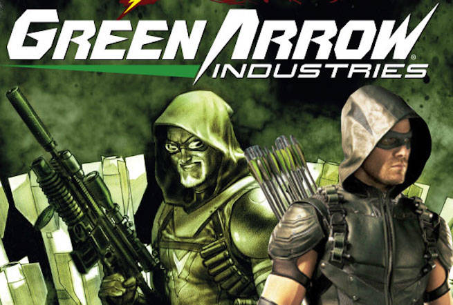 FlashPoint Green Arrow Industries-1 Cover-1