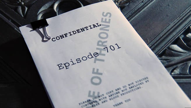 Game of Thrones Script