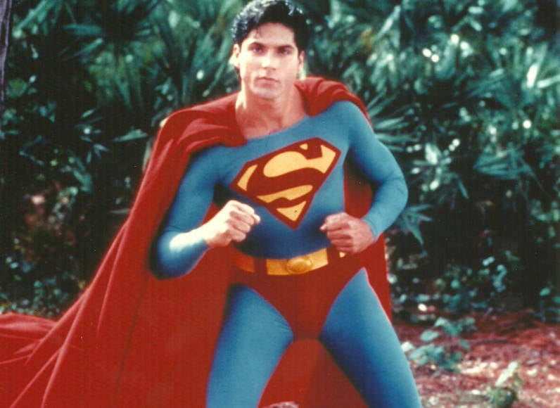 Gerard Christopher Superman Costume