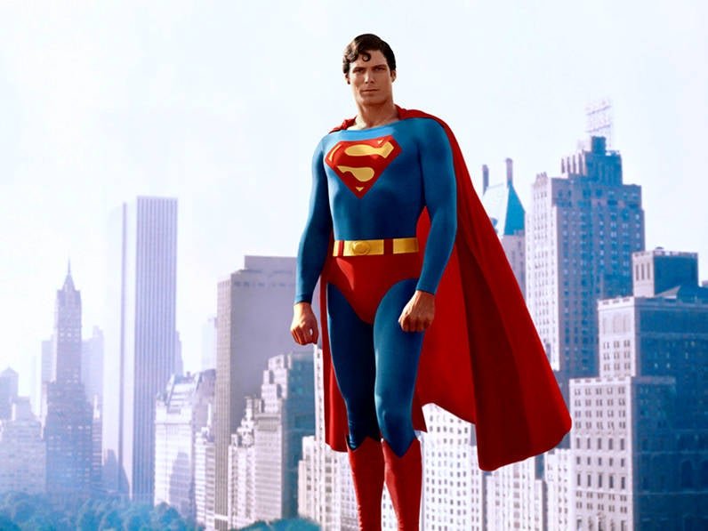 Christopher Reeve Superman Costume