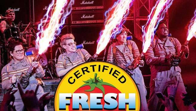 Ghostbusters Rotten Tomatoes
