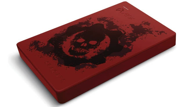 GOW4 Xbox One Seagate Drive