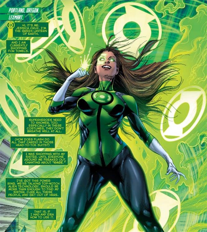 Green Lanterns 2 Cruz