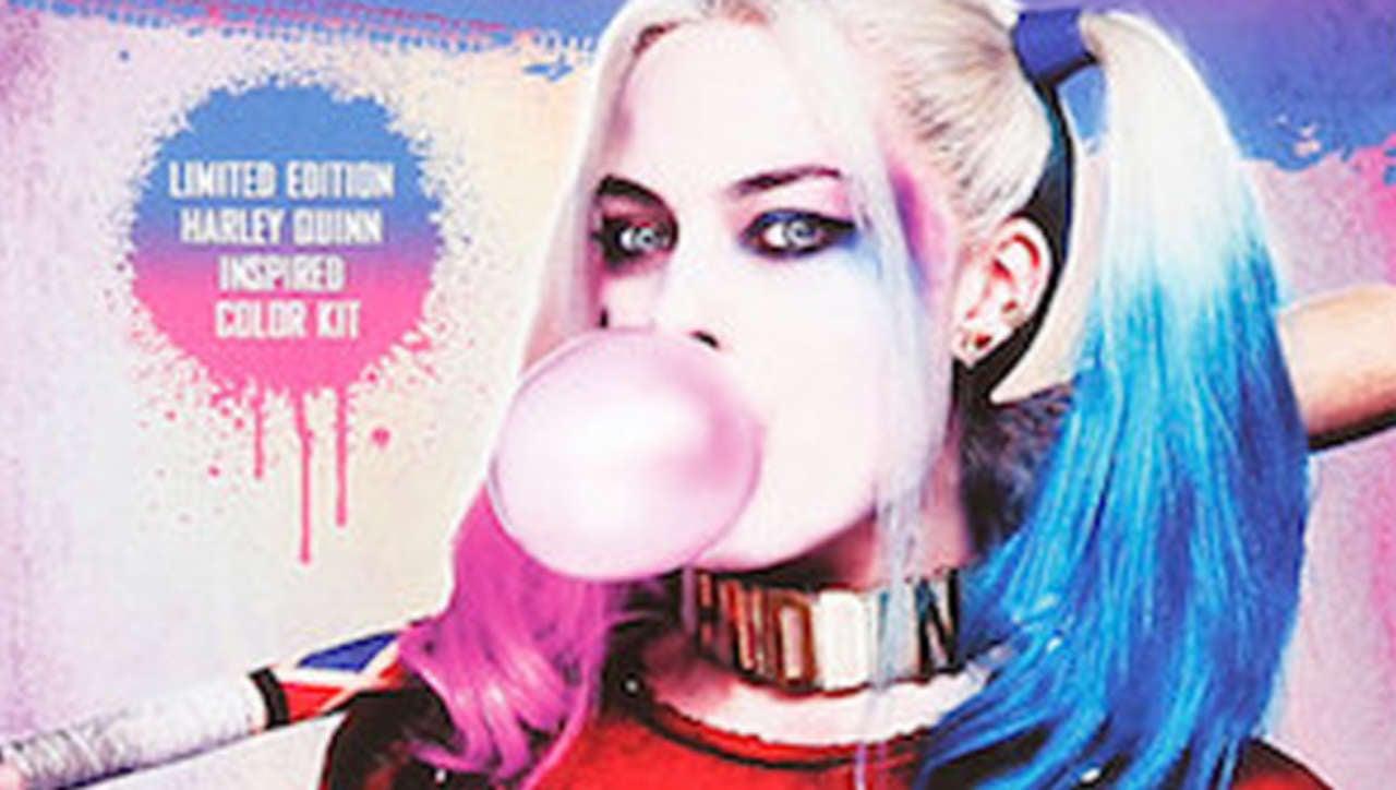 Harley Quinn Hair Dye Unveiled