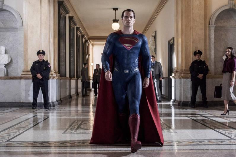 Henry Cavill Superman Costume