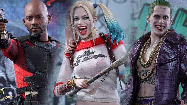 Hot Toys Suicide Squad Figures Header