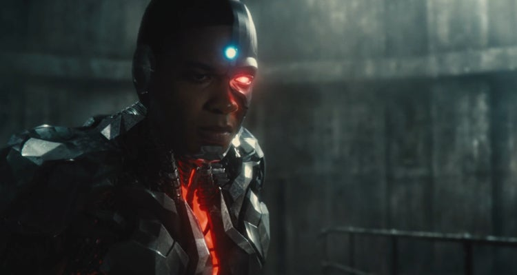 Justice League Trailer - Ray Fisher is Cyborg
