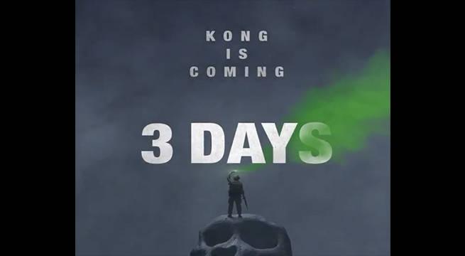 kong skull island motion poster