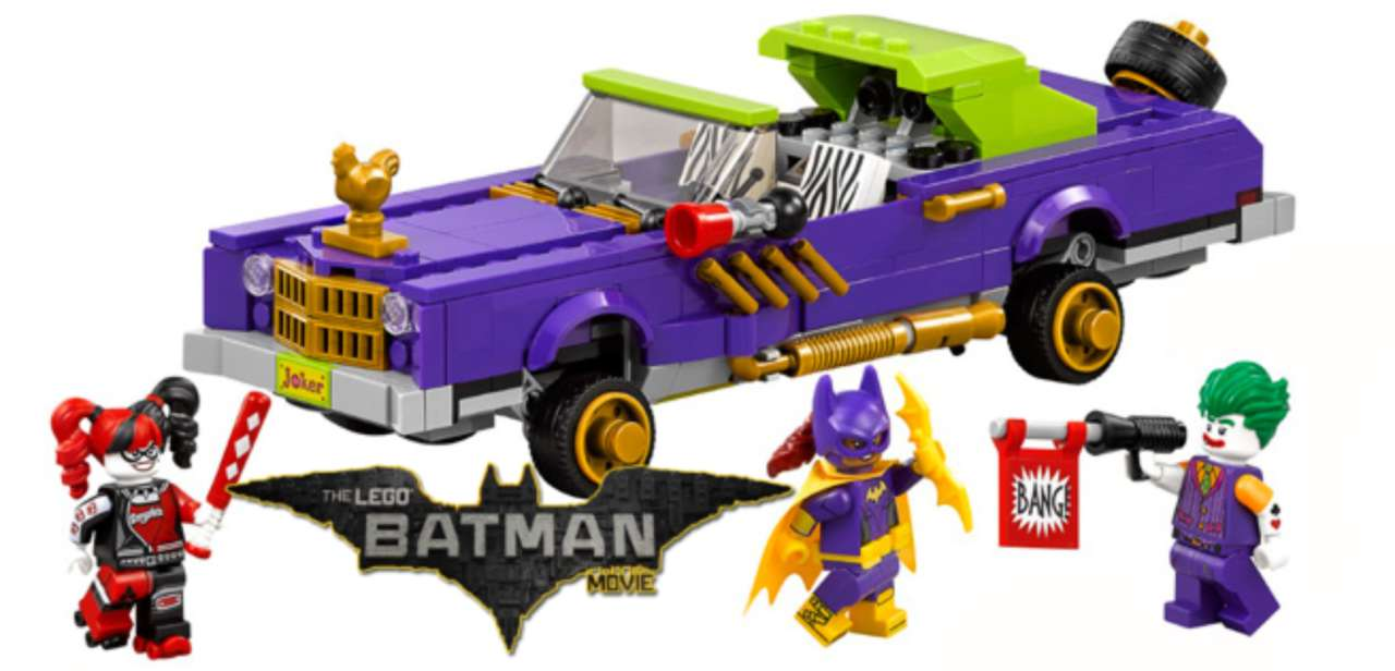 First Look At Lego Sets For Lego Batman Movie