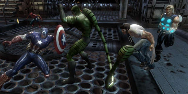 Marvel Ultimate Alliance Header