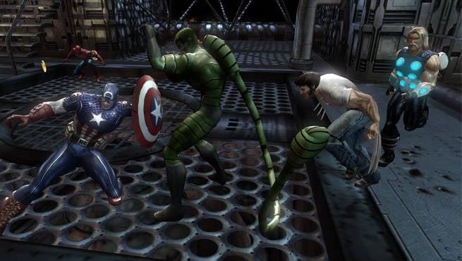 Marvel Ultimate Alliance Header