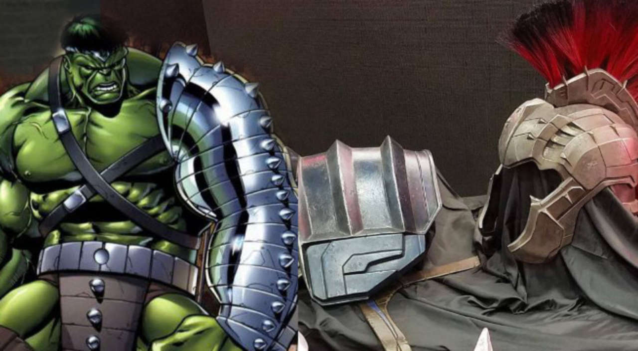 Gladiator Hulk Armor Revealed For Thor Ragnarok