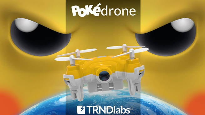 Pokedrone Header