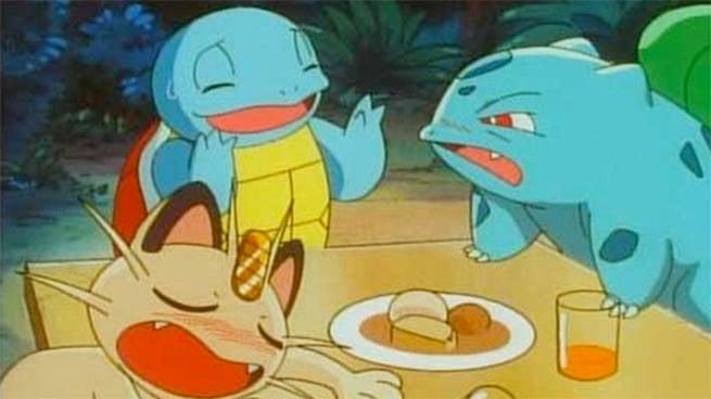 pokemon drinking
