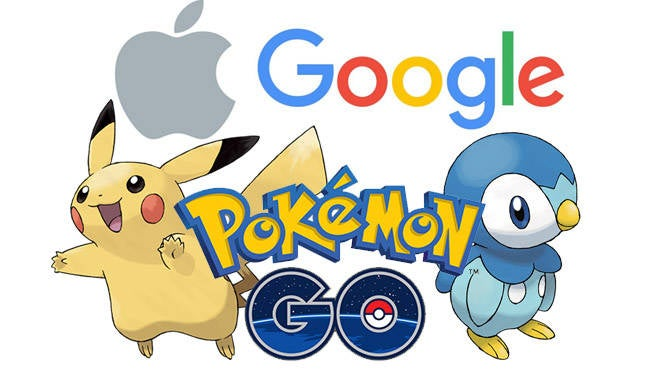 Pokemon GO Apple Google