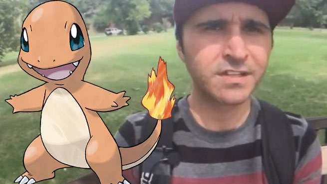 Pokemon GO Charmander Sum