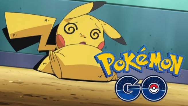 Pokemon GO Injured