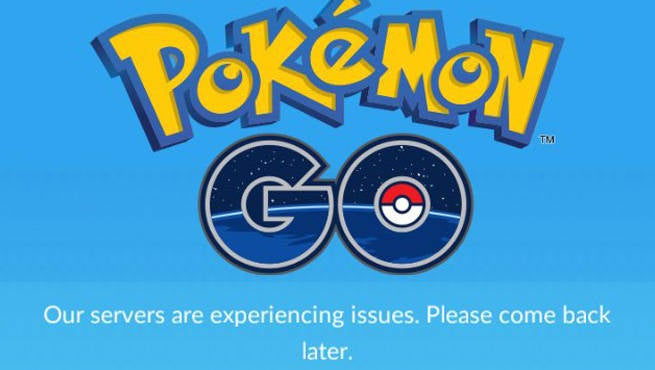 Pokemon GO Server Issues