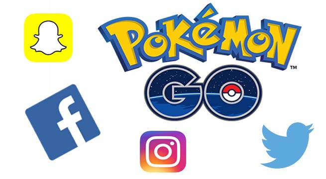 pokemon go social media