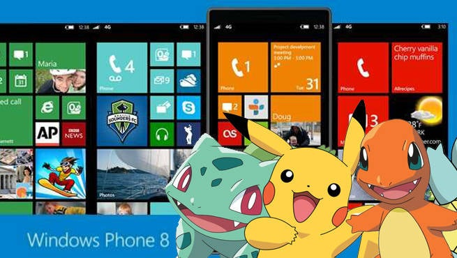 Pokemon GO Windows Mobile