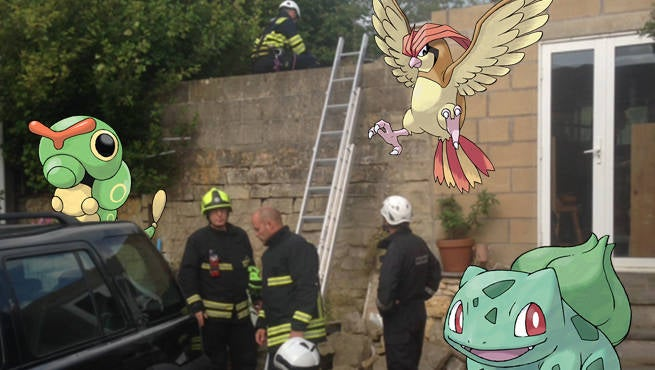 Pokemon Trapped In Cave
