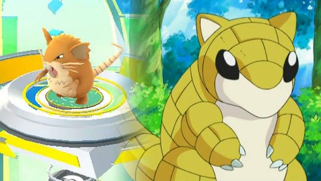 Sandshrew Pokemon