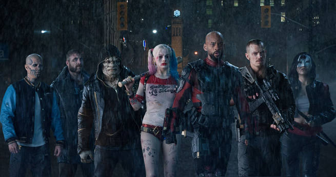 Infographic Breaks Down the Suicide Squad's Special Skills