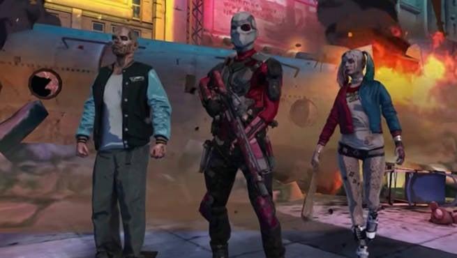 Suicide Squad Mobile Game