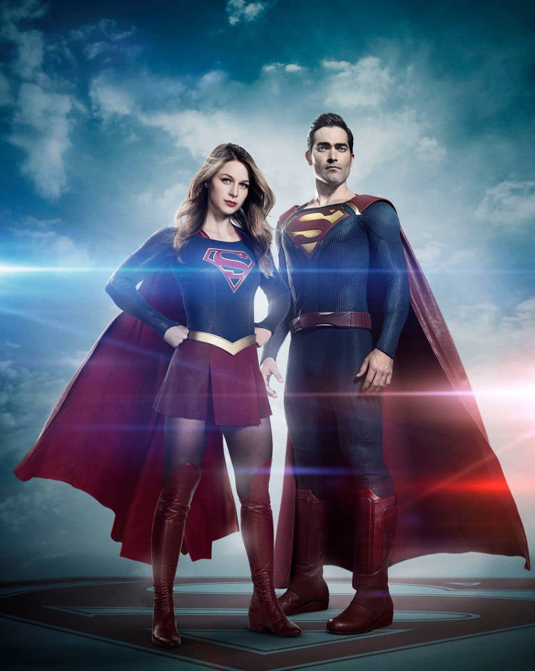 Supergirl Season 2 Superman Costume