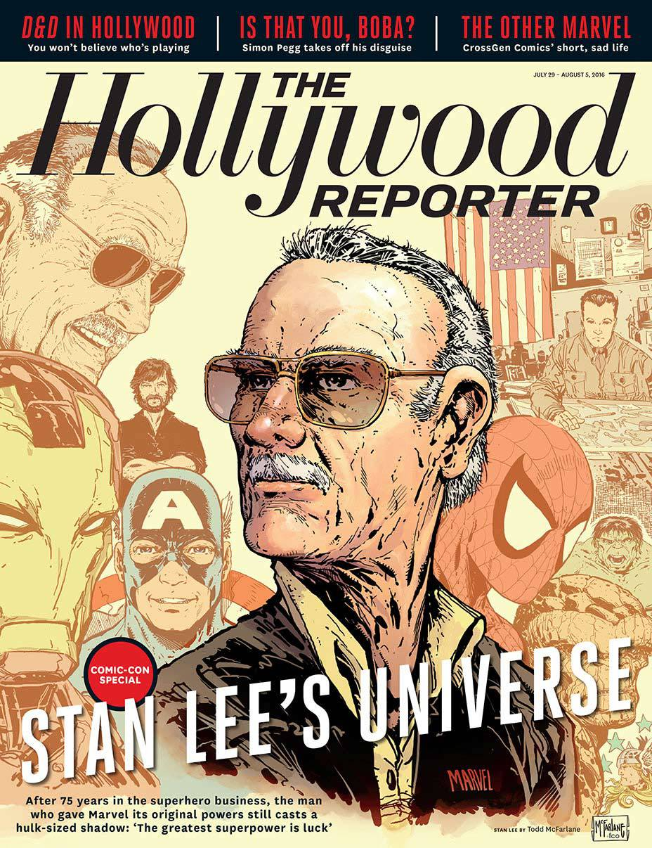 THR Issue 23 Stan Lee Cover embed