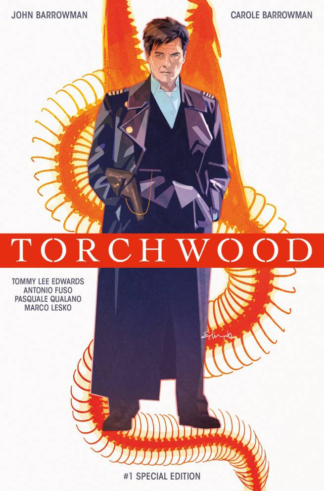 Torchwood #1 SDCC Special Cover