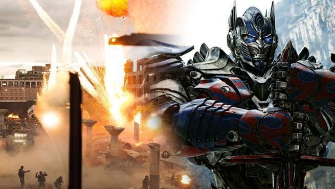 Transformers Explode