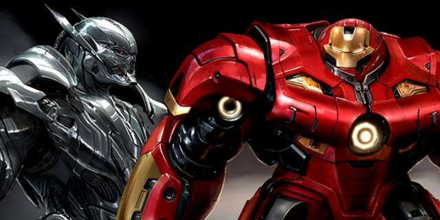 ultron  u0026 hulkbuster concept art for avengers  age of ultron